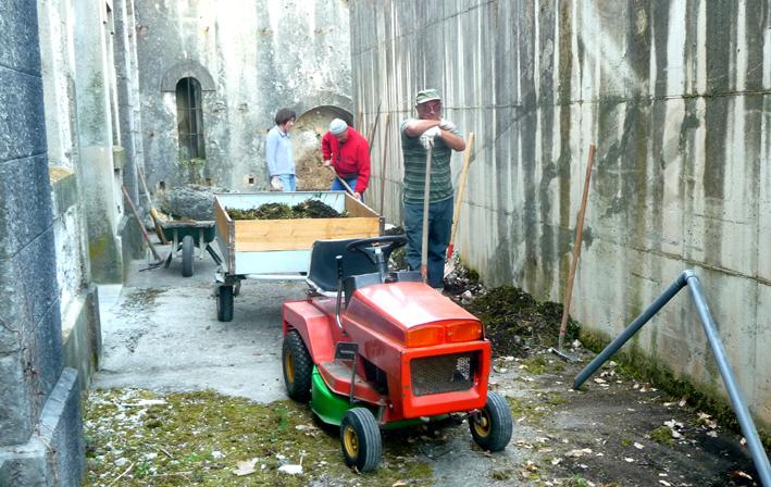Notre mini tracteur