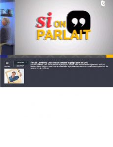Si on parlait